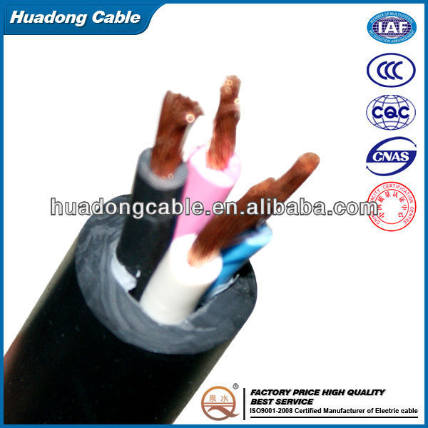 PVC Insulation Flexible Power Cable RVV Series