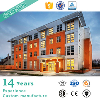 4 Storey fast construction modern designed Prefabricated house Students Accommodation