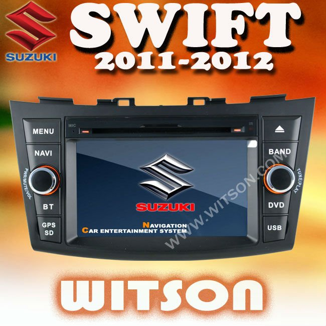 WITSON SUZUKI SWIFT 2011-2012 CAR DVD RADIO with Digital 800x480 Touch Screen
