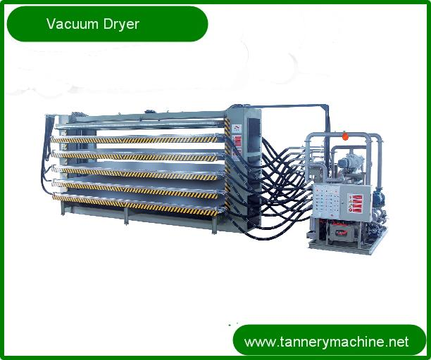 tannery machine for steam leather vacuum dryer