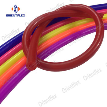 "1/4"" flexible soft high temperature silicone hose heat resistant food grade 8mm vacuum philippines malaysia for coffee"