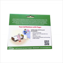 Custom printing color packing box for hospital call button