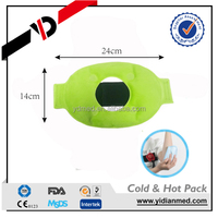 Reusable cooling gel beads ice pack for sports injury