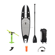 Exciting and colorful pvc can folded Inflatable stand up paddle board with good price and quality