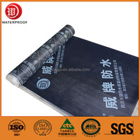 high density construction materials butyl rubber sbs polymer waterproof membrane sheet for Iran contractors