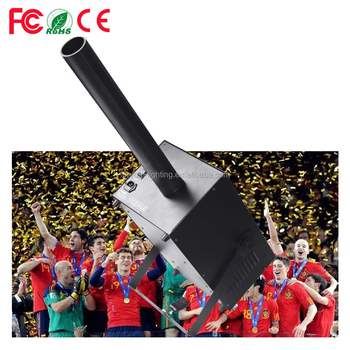 CE ROHS Factory Wholesale Stage Effect CITC Shot-Max 1500Watt Paper Confetti Blower Machine
