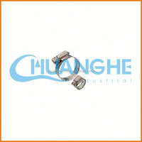 low price!tube pipe /p-clips hose clamp with rubber coated