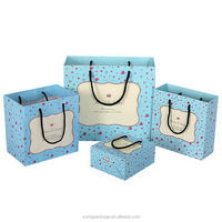 Aesthetic appearance new arrival cream color paper gift bags