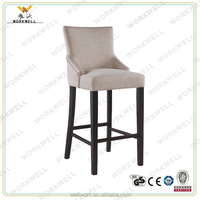 WORKWELL KW-B2400 Comfortable Luxury Bar Stool High Chair similar with sofa design