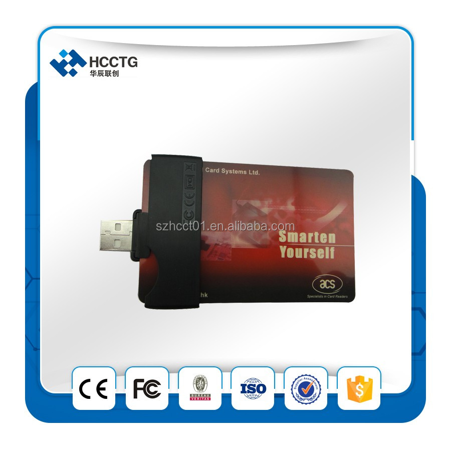 acs 7816 usb flash emv chip smart card reader writer -ACR38U-N1