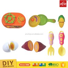 children educational toys wholesale play game cooking food plastic