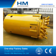 Low MOQ Double Cut Dirt/Clay/Soil Drilling Bucket with Collar Plate