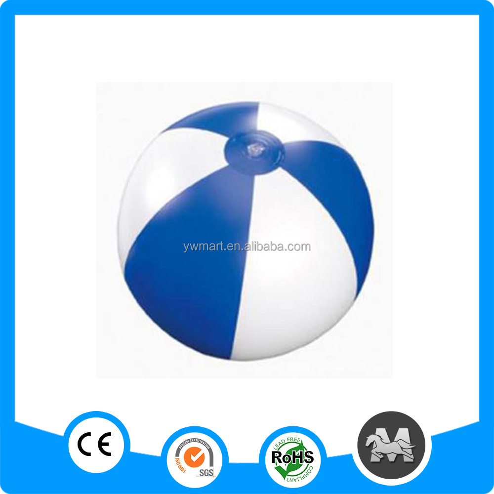Promotional Logo Customized Printed PVC inflatable colorful Beach Ball
