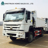 China Sino Truck HOWO 4x2 6 Wheeler Capacity 16Ton 18ton Dump Tipper Trucks For Sale