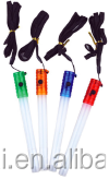 LED Glow Stick with Whistle 2LED (1 White LED + 1 Color LED) VERY USEFUL AND BEAUTIFULLED Glow Stick with Whistle
