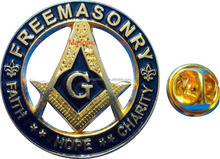 Hot sale custom car emblem masonic badge logo