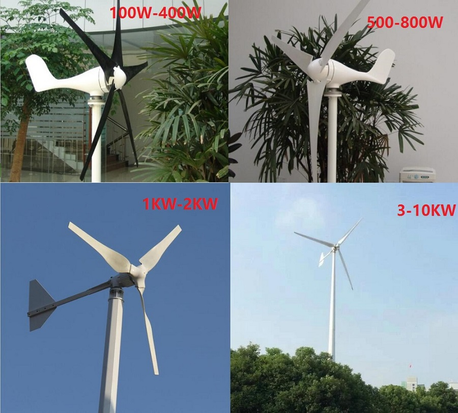 Sell Micro dynamo for small home wind turbine system 500w 24V 48V wind generator