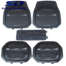 Non-slip plastic PVC latex silicone car floor/foot mats