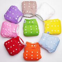 1PCS Reusable Baby Infant Nappy Cloth Diapers Soft Covers Washable Adjustable Fraldas Winter Summer Version