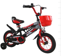 "Model 001 12"" 14""16""20"" inches new design cheap kids bicycle high quality 4 wheel bicycle for sale"