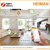 Heiman Wireless zigbee control Smart Home automation with IOS and Android Free App