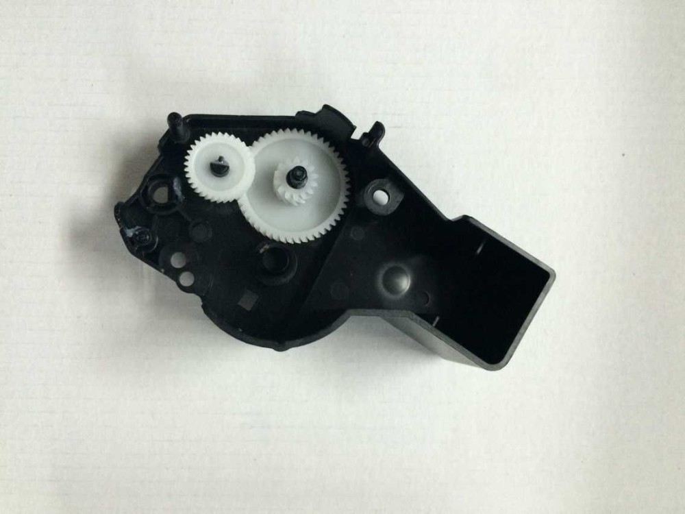toner cartridge plastic parts Side plate drive gears for HP 55X (with gears)