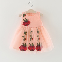 Factory direct kids old fashioned dress with good price