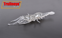 2015 Arrival Artificial Lure Shad Fishing Worm Soft Lure Grub Fly Fishing Bait Curve Tail Fishing Lure