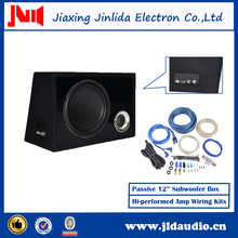 Nexo Subwoofer Speaker Box With Amp Wiring kits Sound system Speaker Box