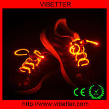 Super Cool LED Flash Lighting Running Boot Skating Hip-hop Shoe Laces Shoelaces blue 3rd generation Hot sale