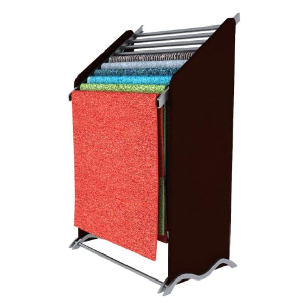 Customized Practical Metal Hanging Metal Carpet Display