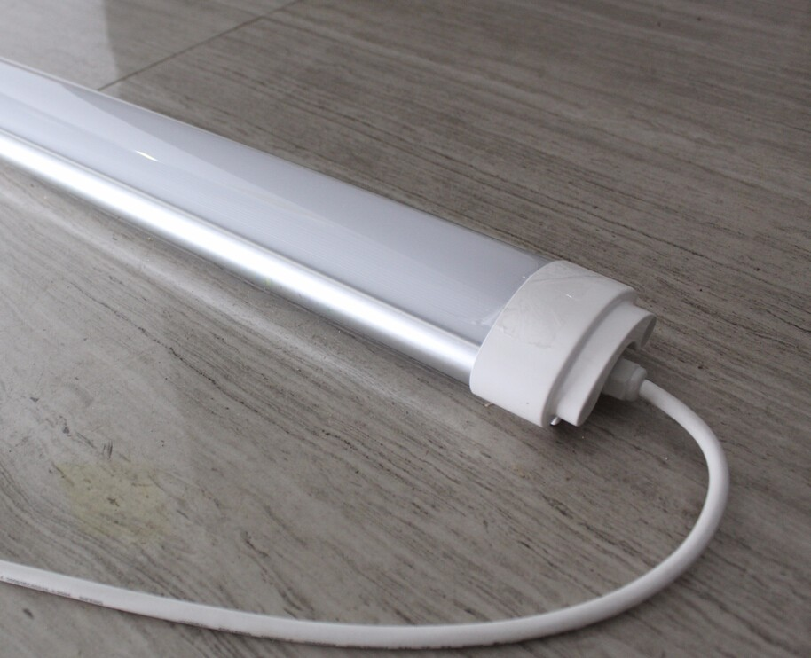 High power 60w flat linear led lights 5feet slim ceiling batten led light with 3 years warranty