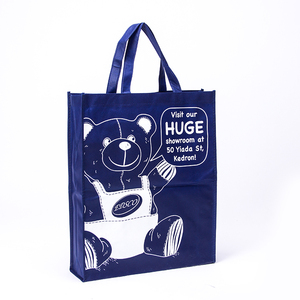 Custom Promotional shopping tote fabric polypropylene laminated pp non woven bag