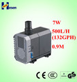 Submersible pump 2015 aquarium fish pump 132GPH