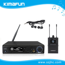 Hot selling and True Diversity wireless surveillance microphone KM-100M