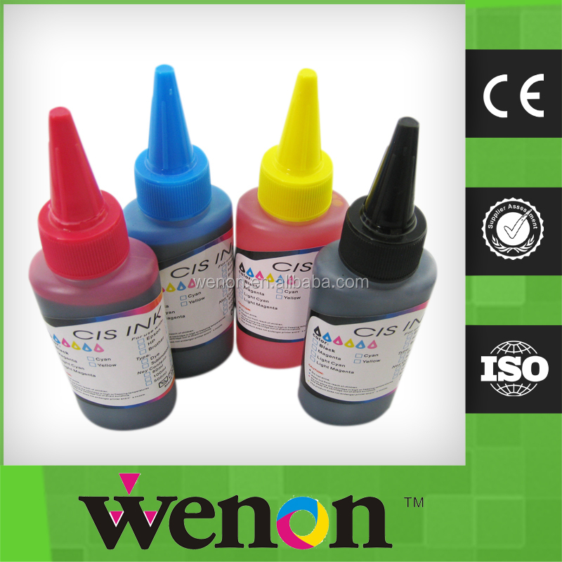 Hot!!!4 color 100ml Universal dye ink for canon