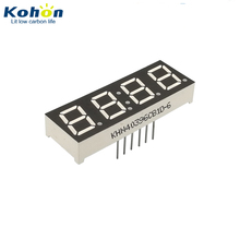 Blue emitted 0.39 inch digit CC 4 digit 7 segment led numeric counter display