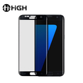 Anti glare privacy curved tempered glass full cover phone screen protector for samsung galaxy s7 edge