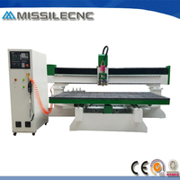 High accuracy auto tool change 3d foam cutting cnc router