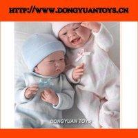 Vinyl Real Baby Sleep Doll