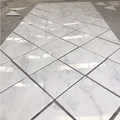 Polished oriental white marble slabs with direct factory price