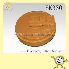 Front idler SK330 idler, excavator Undercarriage parts
