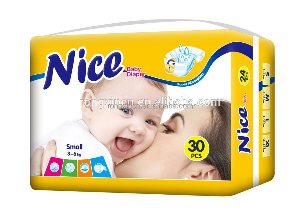 Natural Cotton Super Soft Disposable Baby Diapers Professional China Manufacturer Baby Nappy Diaper Producer