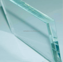 China factory tempered glass in building tempered glass price glass railing
