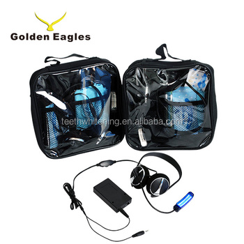 Home use teeth whitening kit, headset teeth ice whitening kit