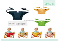 pass EN71 simple to attache to any chair kids seat comfortable portable baby seat