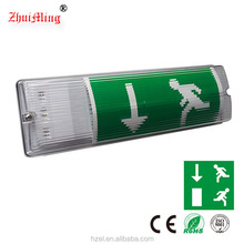 Fire Retardant PC Material LED Escape Emergency Lamp Light