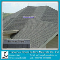 Laminate asphalt roof shingles