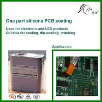 PCB coating suitable for brushing, dip-coating