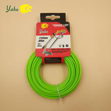 3mm Diameter Wire Heavy Duty Circle Co-Polymer Trimmer / Garden Line Trimmer / Grade Tough Nylon Grass Cutter Strimmer Line
